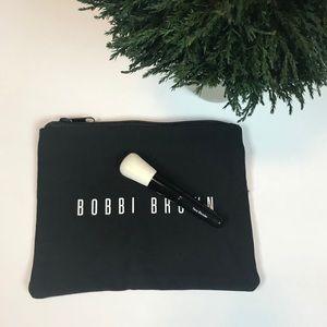 Bobbi Brown Face Blender Brush & Cosmetic Bag